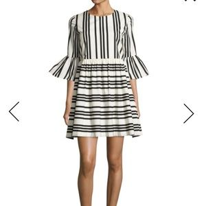 """Chic Alice + Olivia Striped """"Augusta"""" Party Dress"""